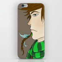 indie iPhone & iPod Skins featuring Indie Kid. by BOLT:  High Voltage Art.