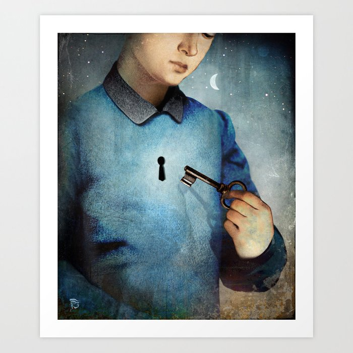 Discover the motif UNLOCK by Christian Schloe as a print at TOPPOSTER