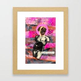 Divine Dogs -- Mastiff Framed Art Print