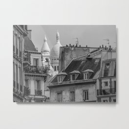 Paris toits  Metal Print