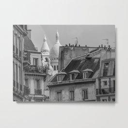 Paris toits  Metal Print
