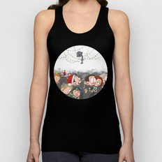 There are CHRISTMAS strings on me... Unisex Tank Top