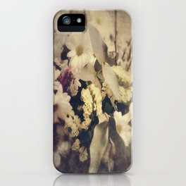 Flowers of Nostalgia iPhone Case