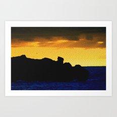 Granite Island Art Print