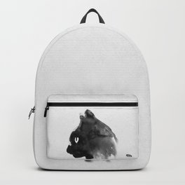 Cat Portrait (Ink Painting) Backpack
