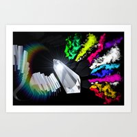 Lemurian Dream I Art Print