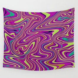 Green Marble Wall Tapestry