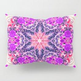 bouquet-lined bridges mandala Pillow Sham