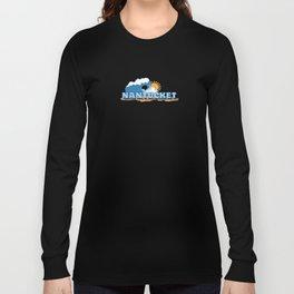 Nantucket Island. Long Sleeve T-shirt