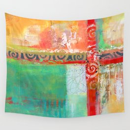 Sunlit Journey Wall Tapestry