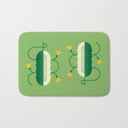Vegetable: Cucumber Bath Mat