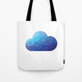 Cloud Of Data Tote Bag