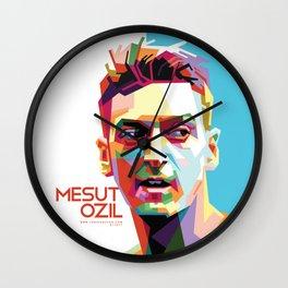 Mesut Ozil WPAP 2 Wall Clock