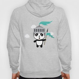 Cutest Panda Knight T-Shirt for all Ages Hoody
