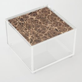 Old Marbled Paper 02 Acrylic Box