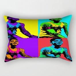Andy Pop Art Rectangular Pillow
