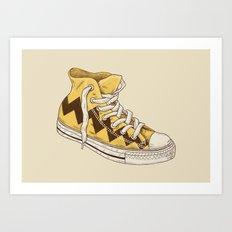 Chuck Art Print