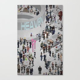 Mass Effect: Bar in Heaven (Maleshep) Canvas Print