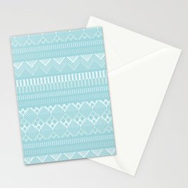 Weave (blue) Stationery Cards