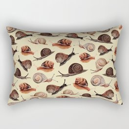 A Slew Of Snails Rectangular Pillow
