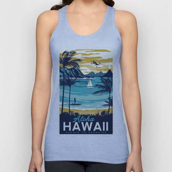 Vintage poster - Hawaii by mosfunky