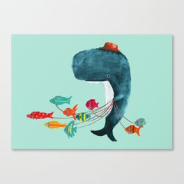 My Pet Fish Canvas Print