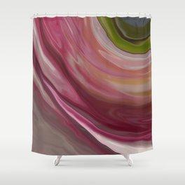 Linnea Flower Abstract Shower Curtain
