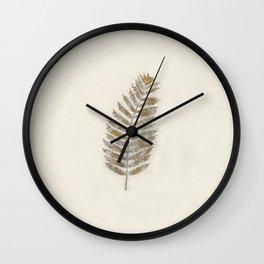 Fern by kathy Morton Stanion Wall Clock