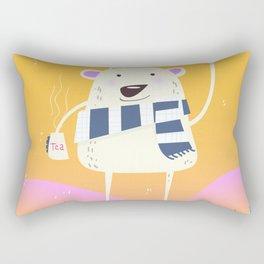 The famous Ye'tea' Rectangular Pillow
