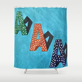 Aa Shower Curtain
