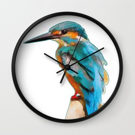 martin the fisher Wall Clock