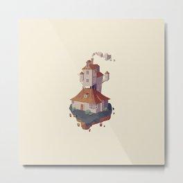 The burrow HP Metal Print
