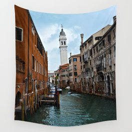 Leaning Venice Wall Tapestry