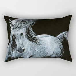 Arabian Horse II Rectangular Pillow