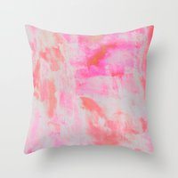serenity Throw Pillows featuring Serenity by Georgiana Paraschiv