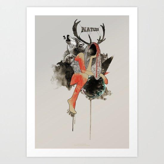 Natura Art Print
