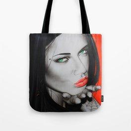 'Black Widow' Tote Bag