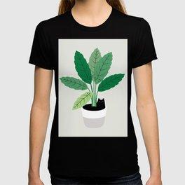 Cat and Plant 28: Something Fishy T-shirt