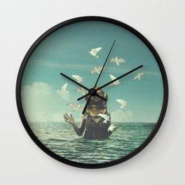 Aquatic Radioactive Wall Clock