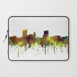 Fort Wayne, Indiana Skyline SG - Safari Buff Laptop Sleeve