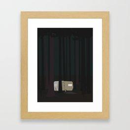 CAMPINGVOGN Framed Art Print