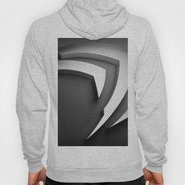 Gray 3D Texture Hoody