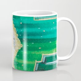 Mending the Rift - Red, Green & Gold Coffee Mug
