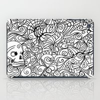 moriarty iPad Cases featuring MEMENTO MORIARTY by Allison Kolarik