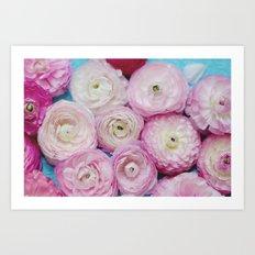 Ranunculus Still Life Art Print