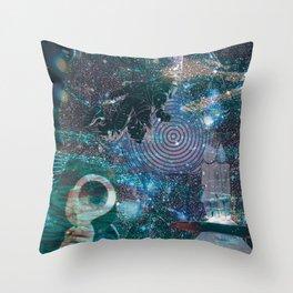 u-f-o-f-f Throw Pillow