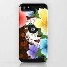 Day of the Hibiscus iPhone Case