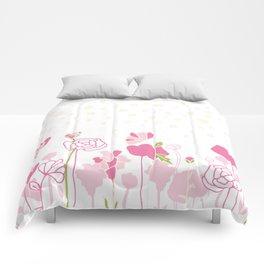 Rose Border Comforters