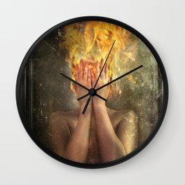 Perish the Thought Wall Clock