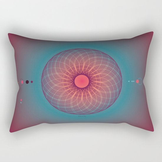mystical circle 1 Rectangular Pillow